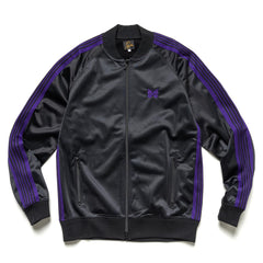 Needles R.C. Track Jacket - Pe/Ta Tricot Black, Outerwear