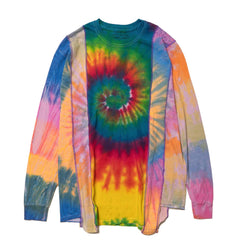 Needles Rebuild by Needles 5 Cuts L/S Tee - Tie Dye Assorted, Tops