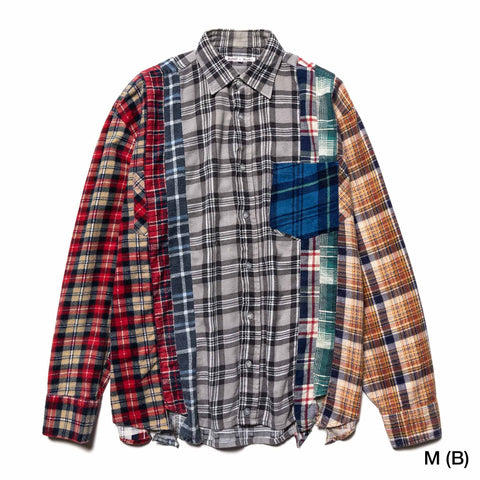 Needles Rebuild by Needles 7 Cuts Flannel Shirt Assorted, Shirts