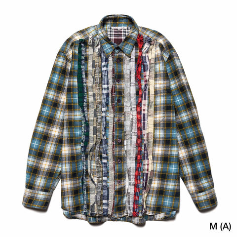 Needles Rebuild by Needles Ribbon Flannel Shirt Assorted, Shirts