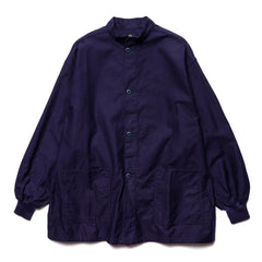 Needles S.C. Army Shirt - Back Sateen Navy, Shirts