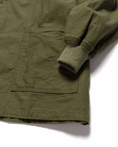 Needles S.C. Army Shirt - Back Sateen Olive, Outerwear
