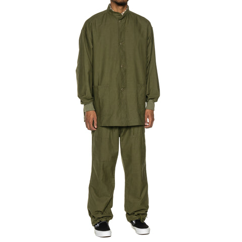 Needles S.C. Army Shirt - Back Sateen Olive, Shirts