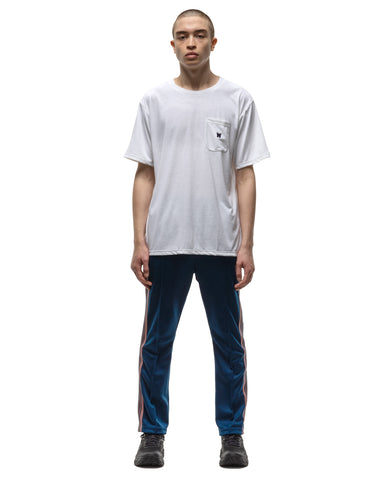 Needles S/S Crew Neck Tee - Poly Jersey White, T-Shirts