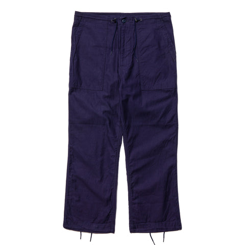 Needles String Fatigue Pant - Back Sateen Navy, Bottoms