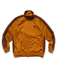 Needles Track Jacket - Poly Smooth Mustard, Outerwear