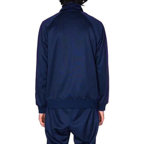 Needles Track Jacket - Poly Smooth Navy, Outerwear