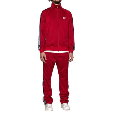 Needles Track Jacket Poly Smooth Red, Jackets