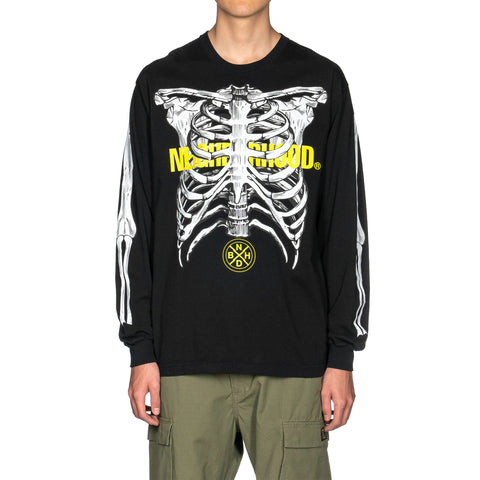 NEIGHBORHOOD Anatomy / C-Tee . LS Black, T-Shirts