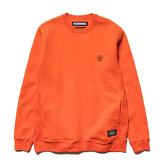 NEIGHBORHOOD Athle / C-Crew . LS Orange, Sweaters