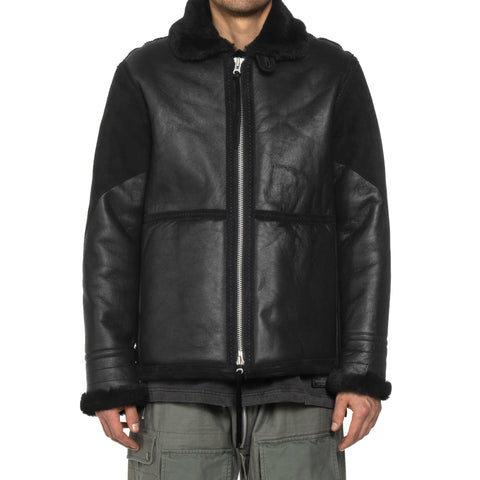 NEIGHBORHOOD B-3 / M-JKT Black, Outerwear