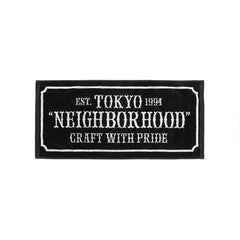 NEIGHBORHOOD Bar and Shield-S / C-Towel Black, Accessories