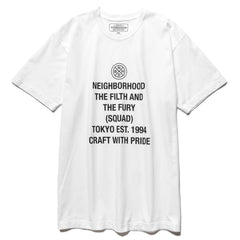 NEIGHBORHOOD CWP / C-Tee . SS White, T-Shirts