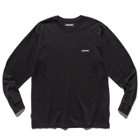NEIGHBORHOOD Classic / C-Crew . LS Black, T-Shirts