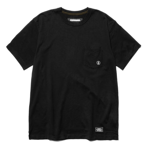 NEIGHBORHOOD Classic-P / C-Crew . SS Black, T-Shirts