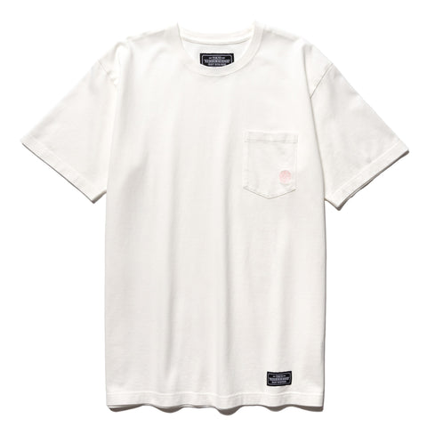 NEIGHBORHOOD Classic-P / C-Crew . SS White, T-Shirts