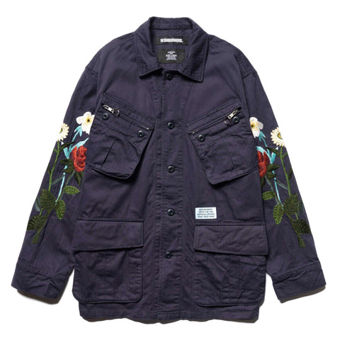NEIGHBORHOOD Combat / C-JKT Navy, Outerwear