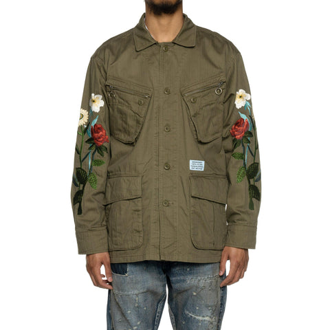 NEIGHBORHOOD Combat / C-JKT Olive Drab, Outerwear