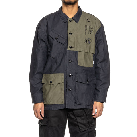 NEIGHBORHOOD Combat / C-Shirt . LS Black, Shirts