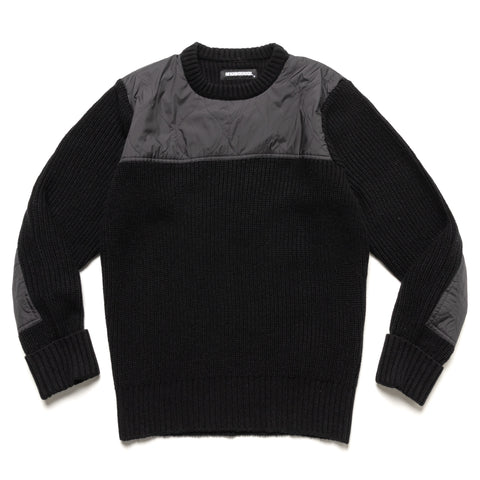 NEIGHBORHOOD Commander / AW-Knit . LS Black, Knits