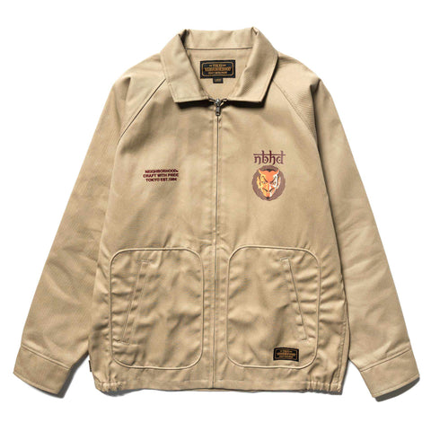 NEIGHBORHOOD Drizzler / EC-JKT Beige, Outerwear