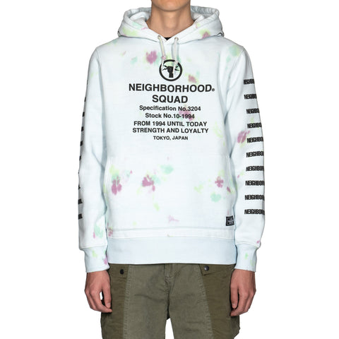 NEIGHBORHOOD Dye / Ce-Hooded . LS Saxe, Sweaters