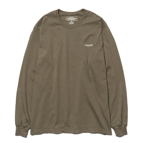 NEIGHBORHOOD Eater / C-Tee . LS Olive Drab