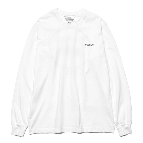 NEIGHBORHOOD Eater / C-Tee . LS White
