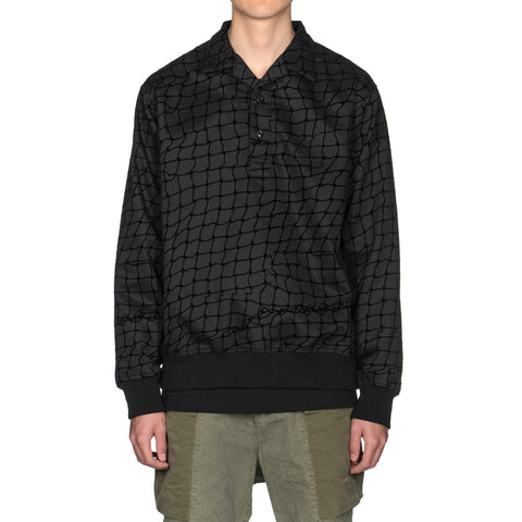 NEIGHBORHOOD Flock . Pull / C-Shirt . LS Black, Tops