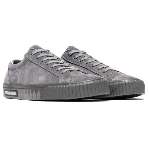 NEIGHBORHOOD G.R. / CL-Sneaker Gray, Footwear