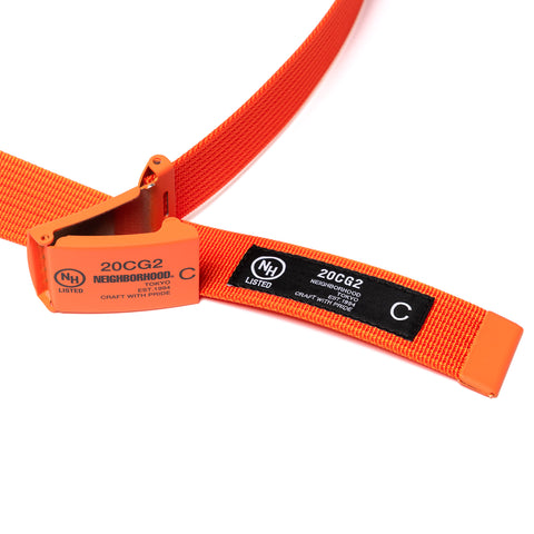 NEIGHBORHOOD G.I. / N-Belt Orange, Accessories
