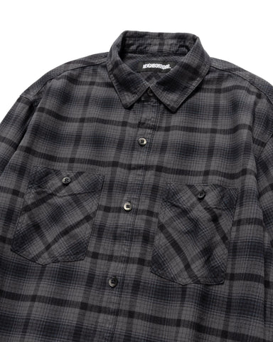 Neighborhood Logger / C-Shirt. LS Black, Shirts