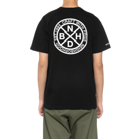 NEIGHBORHOOD Logic / C-Tee . SS Black, T-Shirts