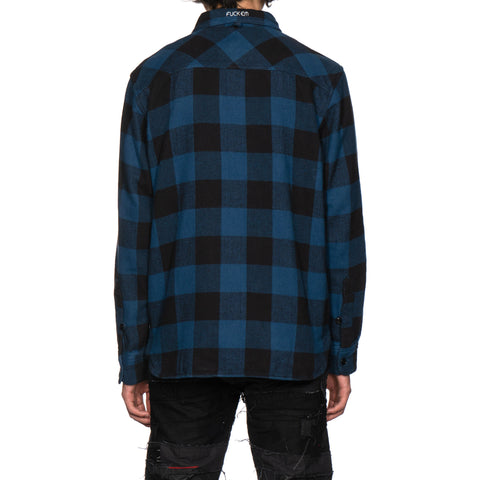 NEIGHBORHOOD Lumbers / C-Shirt . LS Blue, Tops
