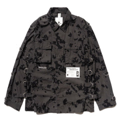 NEIGHBORHOOD MIL-BDU SC Mod / C-Shirt . LS Charcoal, Jackets