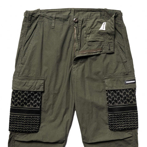 NEIGHBORHOOD MIL-BDU . SMG / C-PT Olive Drab, Bottoms