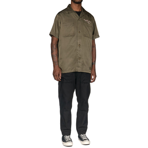 NEIGHBORHOOD MIL - Souvenir / RC-Shirt . SS Olive Drab, Tops