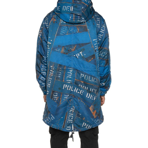 NEIGHBORHOOD NHKS / E-Coat Blue, Outerwear