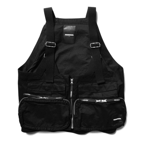 NEIGHBORHOOD Pack / C-Vest Black, Outerwear