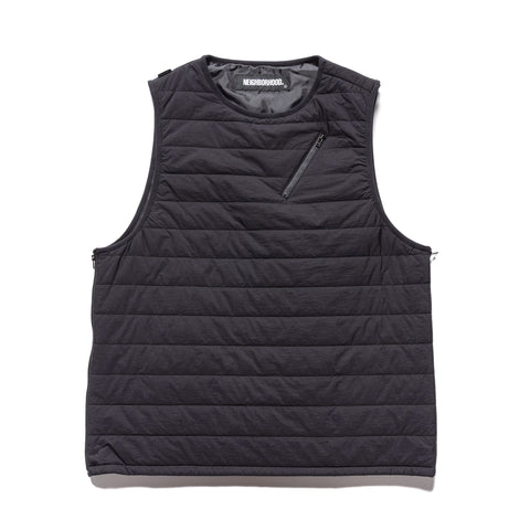 NEIGHBORHOOD Puff / N-Vest Black, Outerwear