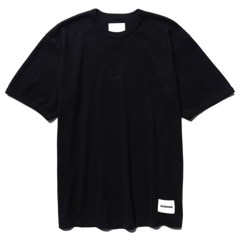 NEIGHBORHOOD Rib / C-Crew . SS Black, T-Shirts