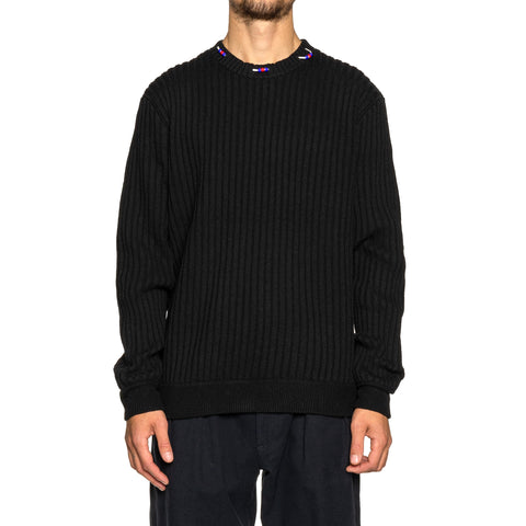 NEIGHBORHOOD Rib / EA-Knit . LS Black, Knits