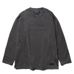 NEIGHBORHOOD Savage . SQD / C-Crew . LS Black, T-Shirts