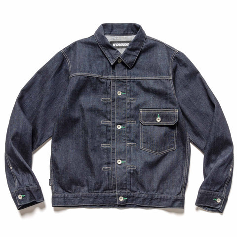 NEIGHBORHOOD Stockman Type-A / C-JKT Indigo, Outerwear
