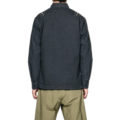 NEIGHBORHOOD Submission / C-Shirt . LS Black, Tops