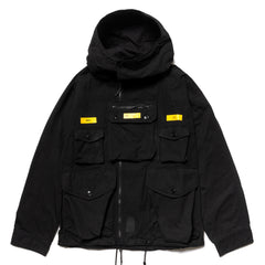NEIGHBORHOOD Tactical Smock / CN-JKT Black, Jackets