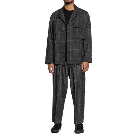 NEIGHBORHOOD Tuck-D / C-PT Black, Bottoms