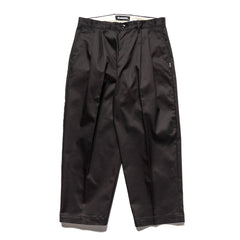 NEIGHBORHOOD Two Tuck / CE-PT Black, Bottoms