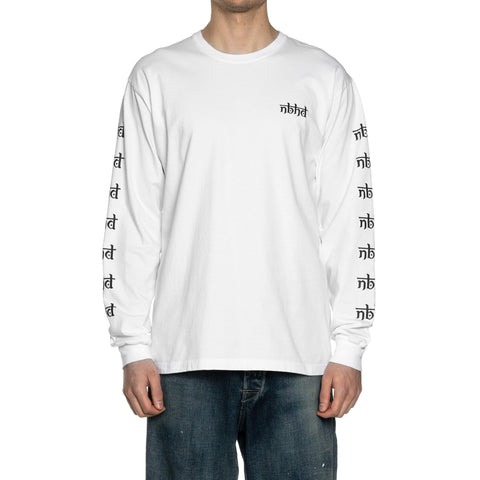 NEIGHBORHOOD Vertigo / C-Tee . LS White, T-Shirts