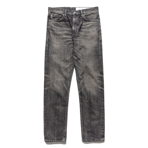 NEIGHBORHOOD Washed . Dp Mid / 14Oz-PT Black, Bottoms